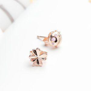 PANDORA Clover and Ladybird Stud Earrings